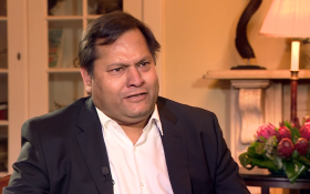 Ajay Gupta. Picture: Screengrab/Youtube