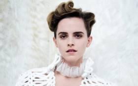 Emma Watson. Picture: Vanity Fair.