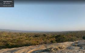 A street view of the Kruger National Park. Picture: Google street view