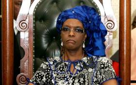 FILE: Former Zimbabwean first lady Grace Mugabe. Picture: AFP