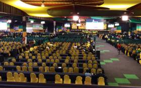 Delegates making their way back to plenary for sessions on the last day of ANC national conference on 20 December 2017 at Nasrec, Johannesburg. Picture: @MYANC/Twitter