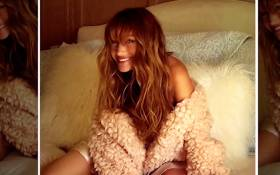 A screengrab of Jane Seymour in her Playboy shoot. Picture: CNN