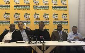 FILE: ANC stalwarts. Picture: Clement Manyathela/EWN