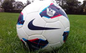 Official football of the English Premier League, the Nike Maxim. Picture: SportsLocker.