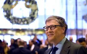 Bill Gates. Picture: AFP.