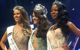 Demi-Leigh Nel-Peters has been crowned Miss South Africa 2017.  Picture: Katleho Sekgotho/EWN.