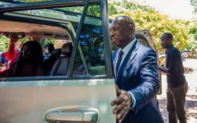 FILE: Zimbabwe former Minister of Energy and Power Development Samuel Undenge, who served under Robert Mugabe and faces charges of criminal abuse of office and corruption, leaves the Harare Magistrates Court after being granted 400 USD bail in Harare on January 6, 2018. Picture: AFP.
