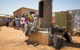Five of the children died from an Apollo light fixture that fell on them in Soshanguve. Picture: Thomas Holder/EWN