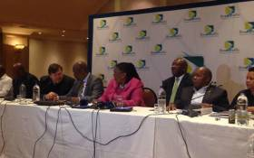 Transport Minister Dipuo Peters at the release of the RTMC annual report, on road accidents, for the year 2014 and 2015 in Kempton Park on 11 September 2015. Picture: Mia Lindeque/EWN