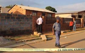 A Soweto property where a man had held his partner hostage. He shot her and then turned the gun on himself. Picture: Christa Eybers/EWN.