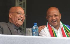 FILE: President Jacob Zuma and Senzo Mchunu. Picture: The KZN Office of the Premier Facebook page.