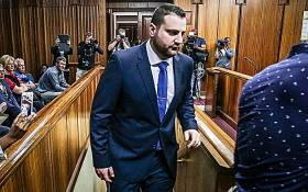 FILE: Christopher Panayiotou sits in the dock at Port Elizabeth High Court during the trial of the murder of his late wife, Jayde Panayiotou. Picture: Anthony Molyneaux/EWN.