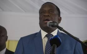 FILE: President Emmerson Mnangagwa in Pretoria. Picture: Ihsaan Haffejee/EWN.