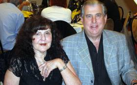 Personal Injury lawyer Ronald Bobroff alongside his wife, Jody. Picture: Facebook.