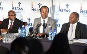 FILE: Nsfas Chairperson Sizwe Nxasana (centre). Picture: EWN