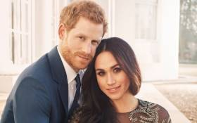 FILE: One of the official photographs released to mark the engagement of Prince Harry and Meghan Markle. Picture: @KensingtonRoyal/Twitter.