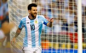 Lionel Messi converted a penalty as Argentina laboured to a 1-0 win over Chile in a World Cup qualifier on 23 March 2017. Picture: Facebook.