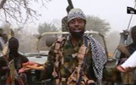 A screen grab image taken on December 29, 2016 from a video released on YouTube by Islamist group Boko Haram showing its leader Abubakar Shekau. Picture: AFP
