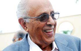 FILE: Ahmed Kathrada at Fatima Meer's memorial service in Durban. Picture: EWN