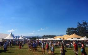Cheese fans seen on Sandringham farm in Stellenbosch. Picture: Twitter/@CPTatNight.