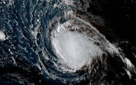 FILE: This image obtained from the National Oceanic and Atmospheric Administration shows Hurricane Irma on September 4, 2017. Picture: AFP.