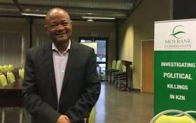 Former KwaZulu-Natal Premier Senzo Mchunu arrives at the Moerane Commission of Inquiry investigating political killings in KwaZulu-Natal. Picture: Ziyanda Ngcobo/EWN