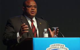 The president of the Caribbean Football Union, Gordon Derrick, had been banned for six years from all soccer-related activities for violating several articles of FIFA's ethical code. Picture: bvifootball.com