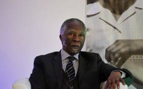 FILE: Former President Thabo Mbeki participates in the National Foundations Dialogue Initiative. Picture: Christa Eybers/EWN