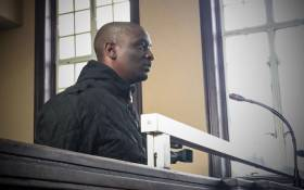Elvis Ramosebudi in the Johannesburg magistrates court. Picture: EWN.