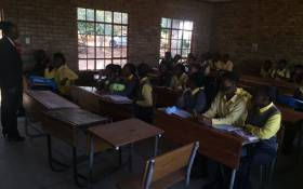 FILE: Vuwani learners in class. Picture: Kgothatso Mokgale/EWN