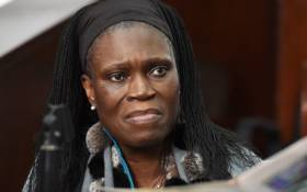 Ivory Coast's former first lady Simone Gbagbo. Picture: AFP
