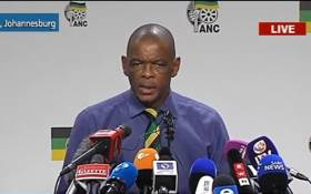 ANC SG Ace Magashule. Picture: YouTube screengrab.