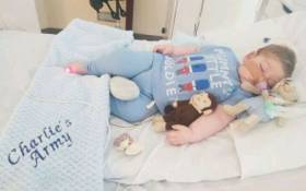 Charlie Gard has a rare genetic condition causing progressive muscle weakness and brain damage. Picture: Instagram/@charliesfight.