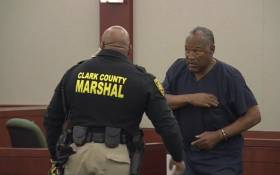 OJ Simpson seen here during his parole court proceedings. Picture: Screengrab CNN.