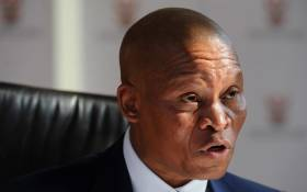Chief Justice Mogoeng Mogoeng defends a speech he gave in Stellenbosch last week about religion and the law during a news conference in Johannesburg on 4 June 2014. Picture: Sapa.