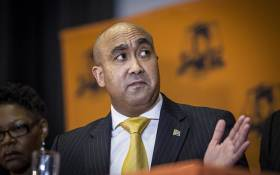 National Director of Public Prosecutions Shaun Abrahams addresses the media relating to charges being dropped against Finance Minister Pravin Gordhan and two former SARS employees Ivan Pillay and Oupa Magashula at the NPA's head office in Pretoria. Picture: Reinart Toerien/EWN.
