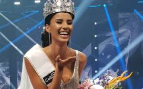 Tamaryn Green crowned Miss SA 2018. Picture: EWN