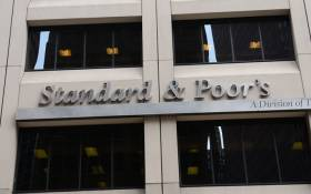 Credit rating agency Standard & Poor's. Picture: AFP