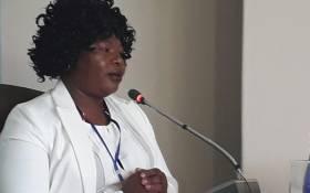 Nursing manager Dikeledi Manaka. Picture: Masego Rahlaga/EWN