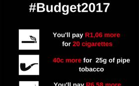 The Finance Minister has announced a rise in so-called sin taxes in the 2017 Budget.