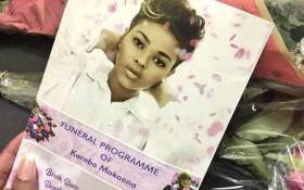FILE: The funeral service of Karabo Mokoena. Picture: Katleho Sekhoto/EWN