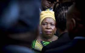 FILE: Former African Union chairperson Nkosazana Dlamini-Zuma. Picture: EWN.