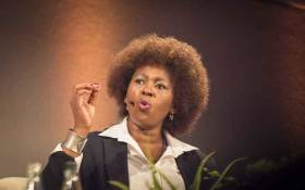 Dr Makhosi Khoza at The Gathering on the ANC's elective conference on 23 November 2017. Picture: Thomas Holder/EWN.