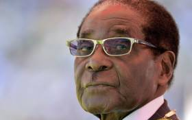 FILE: Zimbabwean President Robert Mugabe looking on during his 2013 inauguration and swearing-in ceremony at the 60,000-seater sports stadium in Harare. Picture: AFP.