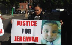 Hundreds of mourners gathered to pay their last respects to slain 18-month-old Jeremiah Ruiters in Kensington on 24 June 2017. Picture: Lauren Isaacs/EWN