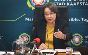 FILE: Cape Town Mayor Patricia de Lille. Photo: Bertram Malgas/EWN