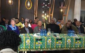FILE: ANC stalwarts attend a media briefing. Picture: Masa Kekana/EWN