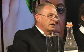 AfriForum's advocate Gerrie Nel at a briefing. Picture: EWN