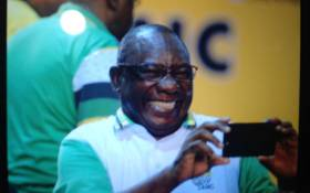 Cyril Ramaphosa at the ANC's 54th national conference on 18 December 2017. Picture: EWN.