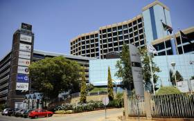 A picture taken on 20 October, 2010 shows the SABC (South African Broadcasting Corporation) headquarters in Johannesburg. Picture: AFP